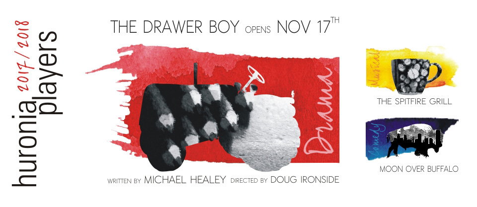 The Drawer Boy - Opens November 17, 2017